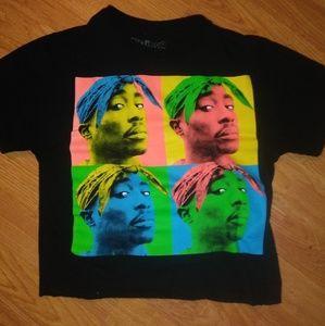 Tupac Crop Tee
